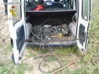 Tres detenidos, dos de ellos menores, por sustracción de cable de cobre valorado en 8.200 euros