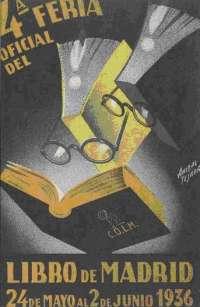 El paseo de la Biblioteca de Navarra acoge una muestra de los carteles que han fomentado la lectura en España desde 1930