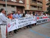 UGT no entiende que el juez no haya incluido a toda la plantilla en el ERTE de Pérez Giménez