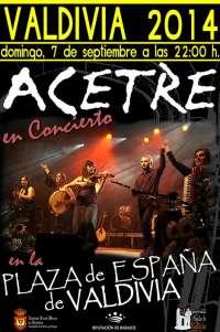 El grupo extremeño de folk 'Acetre' actuará en Valdivia (Badajoz)