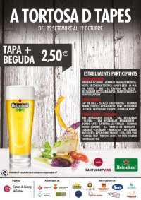31 restaurantes, bares y cafeterías de Tortosa se suman a un ciclo de tapas