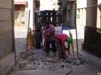 Comienza reurbanización de la Calle Escuelas Pías de Jaca y se firma el acta de replanteo para ampliar escuela infantil