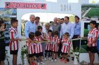 Pedro Sanz indica que el nuevo campo de fútbol de Autol