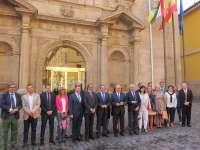 Sanz resalta la coordinación de parlamentarios del PP de La Rioja para