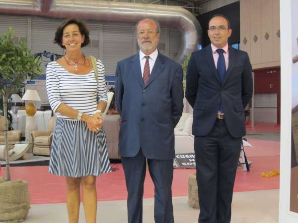 El medio ambiente y el desarrollo de la provincia centran el expositor de Diputación y Ayuntamiento en la Feria