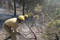 Prealerta roja de incendios en Jiloca-Gallocanta y Turia