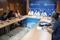 El PP promueve una declaración institucional en la Diputación contra el cierre de la producción de celulosa