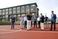 Concluidas la mejora del poliderpotivo de Rubayo y de las pistas deportivas del colegio publico