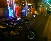 Atropellada una mujer por una motocicleta en la avenida Ramón y Cajal