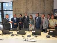 Inaugurado en Cáceres el Centro Hispano-Luso de Redes de Alerta Temprana de prevención y respuesta ante emergencias