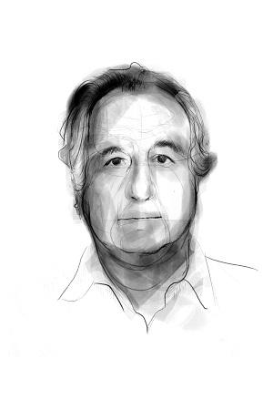 <p>Retrato ilustrado de Bernard Madoff</p>