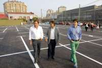 Entran en servicio las 150 plazas del remodelado aparcamiento de La Vidriera