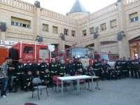 Bomberos piden a Ayuntamiento toledano mejoras en instalaciones y material y que suprima las tasas que cobra a vecinos