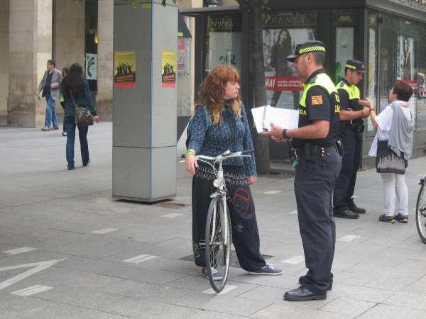 Una comisión técnica estudiará las posibilidades de acceso de los ciclistas por el centro de la ciudad