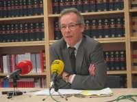 Presidente de la Audiencia de Castellón pide un magistrado más para la sección tercera y reforzar los juzgados civiles