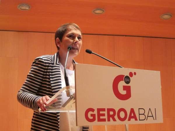 Geroa Bai aprovecha su cita con el Gobierno sobre regeneración para exigir que se retiren recursos contra Navarra