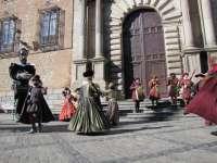 Los músicos y danzantes del pasacalles Flamma recorrerán el sábado las calles de Toledo en homenaje al Greco
