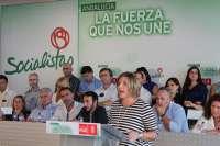 PSOE celebra el Comité Provincial en Barbate en señal de apoyo a los pescadores y a la gestión de Rafael Quirós