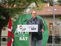 Ortuzar (PNV) cree que Mas acatará la legalidad y no dará al Gobierno del PP
