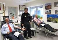 La Policía abre con una donación de sangre en Valladolid un programa