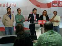 Vara pide al Gobierno que destine a Extremadura la inversión extraordinaria del 1% de su PIB que establece el Estatuto