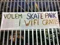 El PSIB reclama un parque de 'skate' y la instalación de wifi en la plaza Fleming de Palma