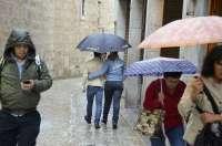 Las lluvias afectarán a casi todo el país esta semana y serán especialmente intensas en el Mediterráneo