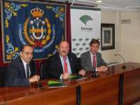 Unicaja renueva su acuerdo de colaboración con el Colegio de Ingenieros Técnicos Industriales de Jaén