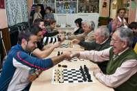 El Club Ajoblanco, flamante campeón de España por equipos, retoma su programa de integración a través del ajedrez