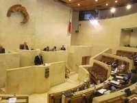 Libertad horaria de Santander, PGE y Valdecilla, a debate este lunes en el Pleno del Parlamento