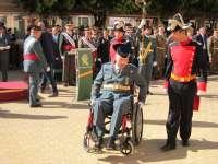 La Guardia Civil de C-LM homenajea en el día de su Patrona a Román Gómez, el agente herido tras un disparo en Yuncos