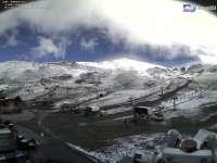 Primera nevada de la temporada en Sierra Nevada
