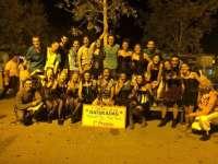 El grupo riojano 'Tarumba Percusión', ganador de la III edición de la 'Batalla de Batukadas' de Fraga