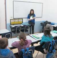 Medio millar de alumnos vallisoletanos utiliza el ábaco japonés para mejorar su capacidad de concentración y atención
