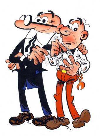 Mortadelo y Filemón.