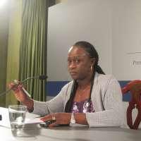 Caddy Adzuba reivindica que las mujeres víctimas de conflictos participen en las negociaciones de paz