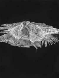 La exposición 'Traslaciones. Más allá del signo' presenta en Badajoz tres series de la artista Ruth Morán
