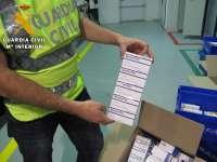 La Guardia Civil desmantela el mayor entramado de tráfico ilícito de medicamentos para su exportación