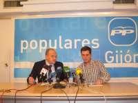 El PP recalca a Fernández que fue el PSOE en exclusiva quien gestionó la ampliación de El Musel