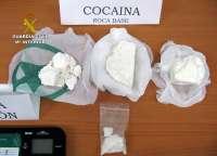 La Guardia Civil desmantela dos puntos de 'menudeo' de droga en Águilas y Cartagena y detiene a ocho personas