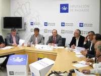 Los bomberos de la Diputación y las agrupaciones de voluntarios trabajarán conjuntamente en la provincia de Badajoz