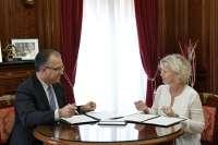 El Ayuntamiento de Pamplona y la Fundación Volkswagen Navarra renuevan el convenio de uso del Parque Polo