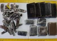 La Guardia Civil desmantela dos activos puntos de distribución de droga en Abarán y Archena