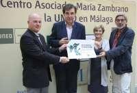 Unicaja y la UNED convocan la primera edición de los premios literarios María Zambrano