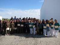 Medio centenar de jóvenes obtienen el certificado de profesionalidad tras participar en el proyecto 'Adarve' en Badajoz