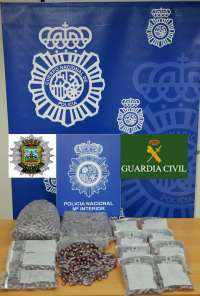 Detenido un vecino de Torrelavega con 27 kilos de hachís en su vehículo tras una persecución policial por calles de Lugo