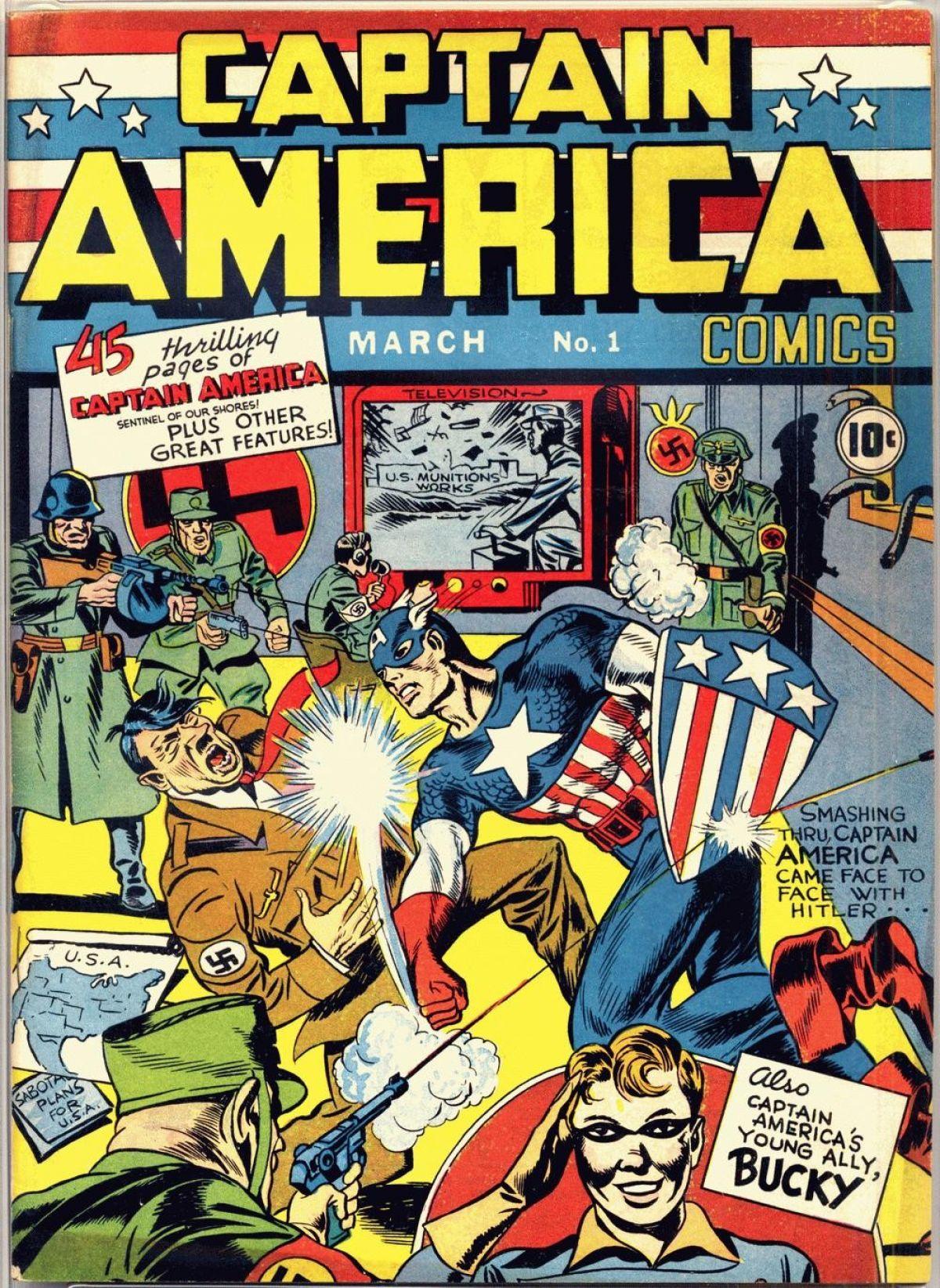 Capitán América #1.