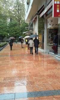 La lluvia y la nieve marcarán el domingo de puente en el tercio norte peninsular y Canarias