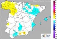 Las mínimas caen hasta 3 grados bajo cero en el interior de Castellón