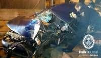 Fallece la mujer que viajaba de copiloto en el coche que chocó contra un árbol en Son Cladera